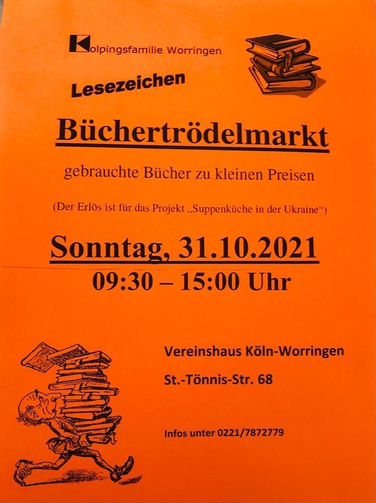 Bücherflohmarkt Worringen