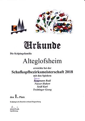 Schafkopfmeister 2018