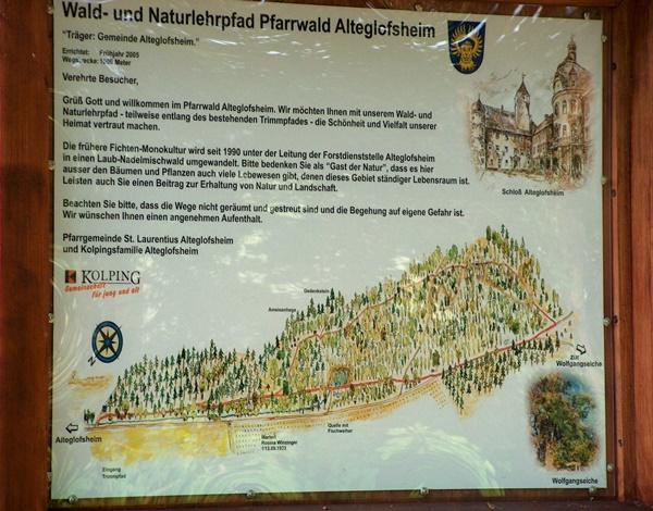 Waldlehrpfad Kolping Alteglofsheim