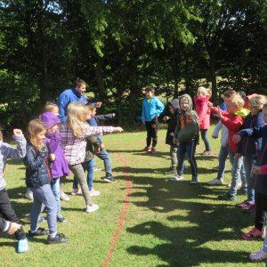 Foto Kennenlernspiele im Zeltkreis
