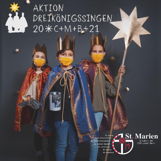 Aktion Dreikönigssingen 2021