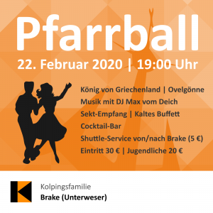 Pfarrball 2020 St. Marien Brake