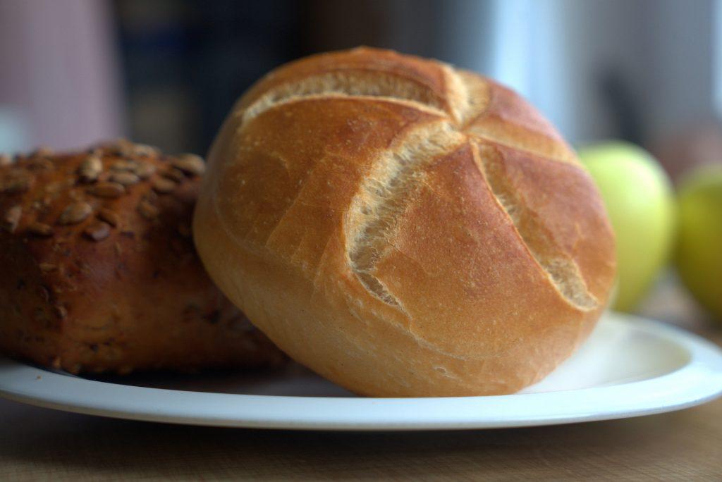 Brötchen zum Frühstück