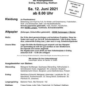20210612_Kolping Kleider-und Altpapiersammlung