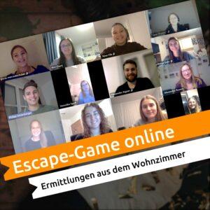 Gruppenfoto Escape-Game