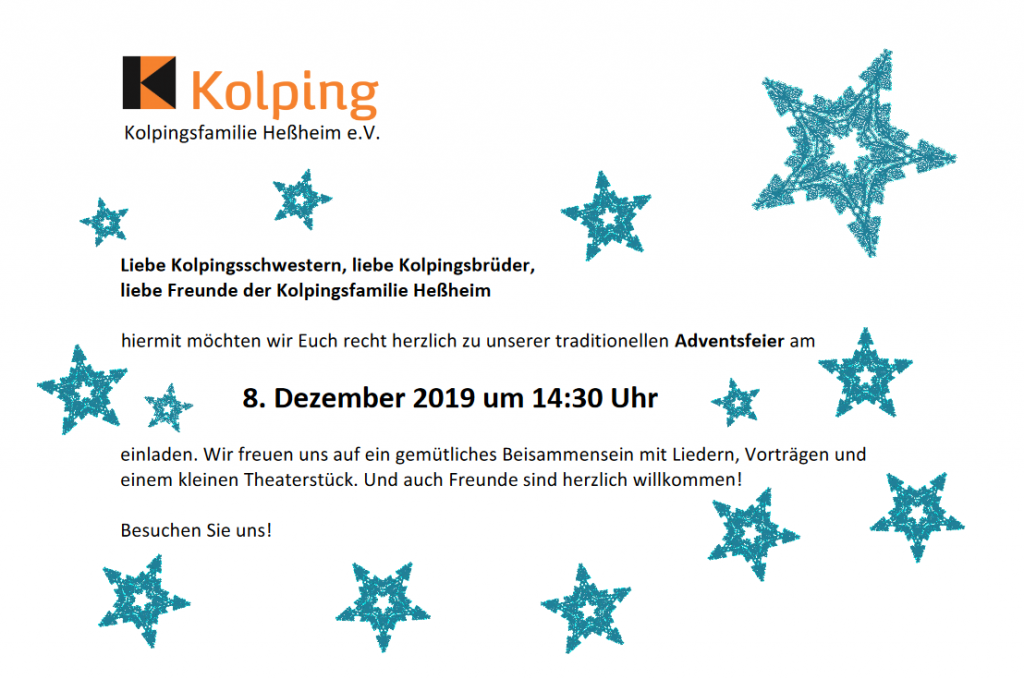 Kolping-Adventsfeier 2019