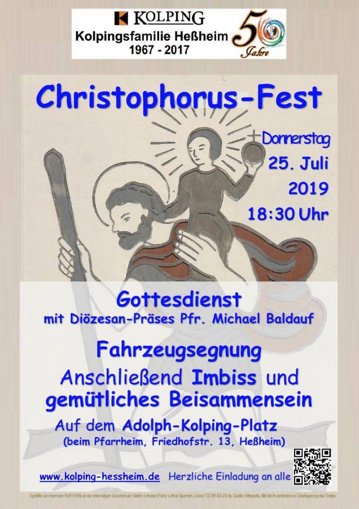 St.-Christophorus-Fest 2019 mit Fahrzeugsegnung