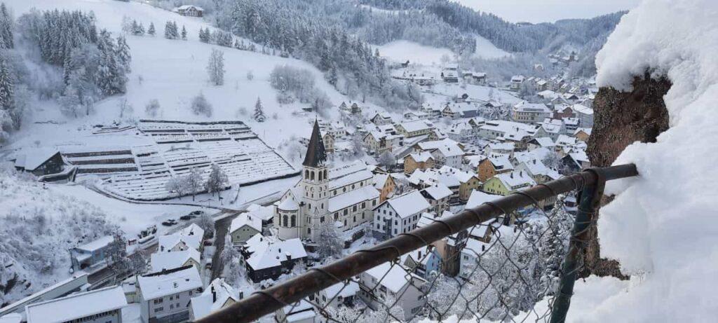Lauterbach im Winter