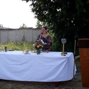 Altar auf der Schöllwiese