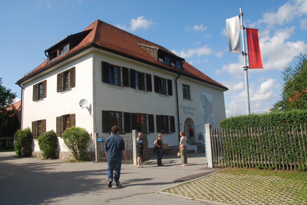 Das Jugendhaus in Krailing - hier waren die Teilnehmer untergebracht