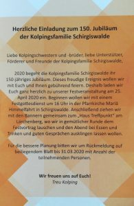 150 Jahre Kolping Schirgiswalde