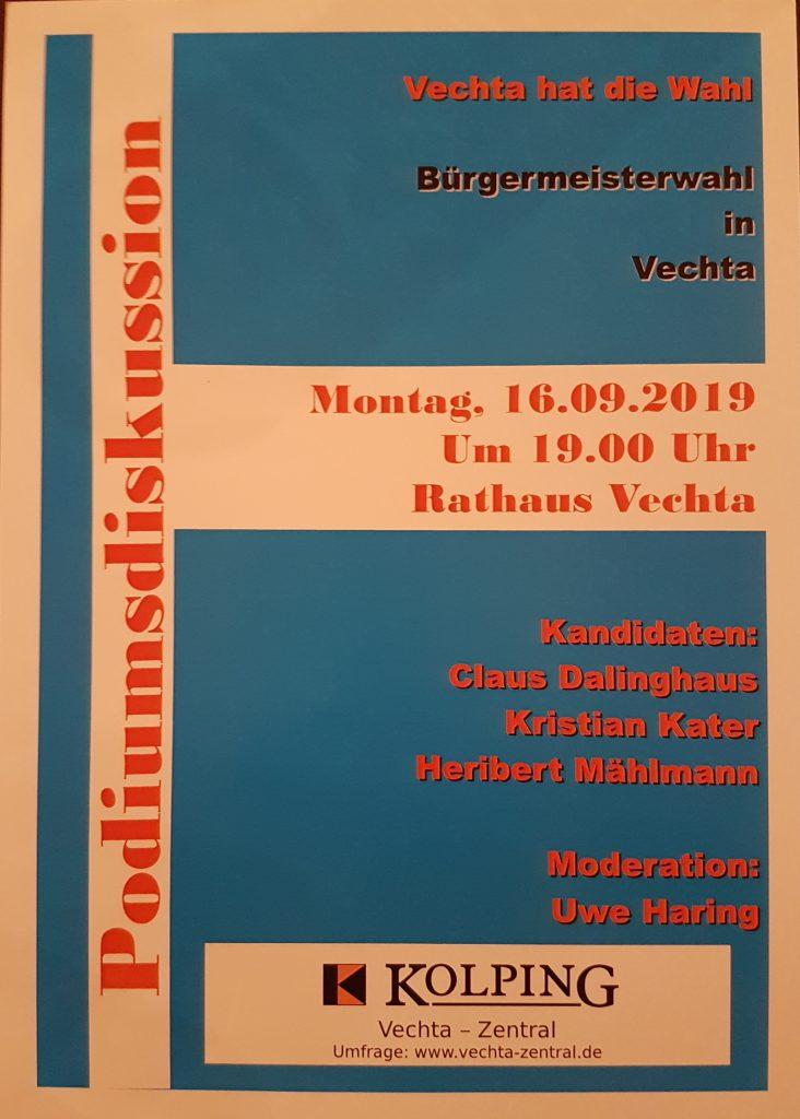 Plakat zur Veranstaltung